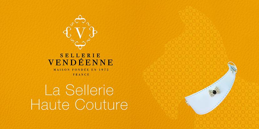 Sellerie haute couture pour chien et chat, Colliers haut de gamme